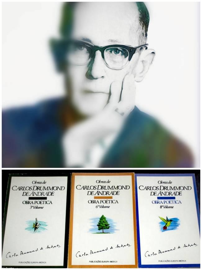 Instante entre estantes   Obra poética de Carlos Drummond de Andrade